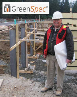 Fast-Tube Fabric Forming for concrete columns and pilasters in CO is GreenSpec Listed