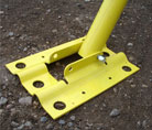Giraffe ICF Bracing Foot Plate System Energy Efficient Green Building Products